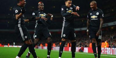 Cara Klasik Manchester United Permalukan Arsenal