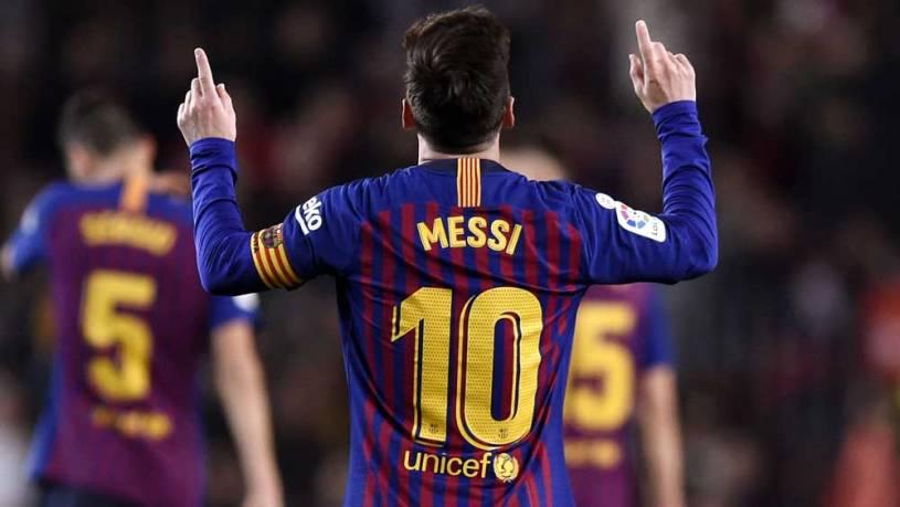 Di Kompetisi La Liga, Messi Tembus Rekor 400 Gol